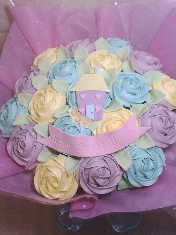 Boucakez cupcake bouquet home Hull