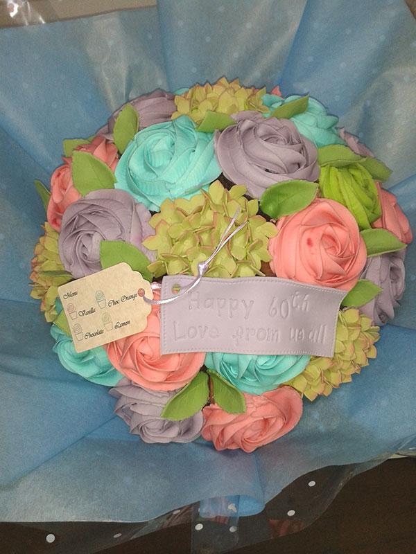 Boucakez cupcake bouquet anniversary Hull