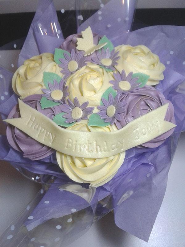 Boucakez cupcake bouquet hull