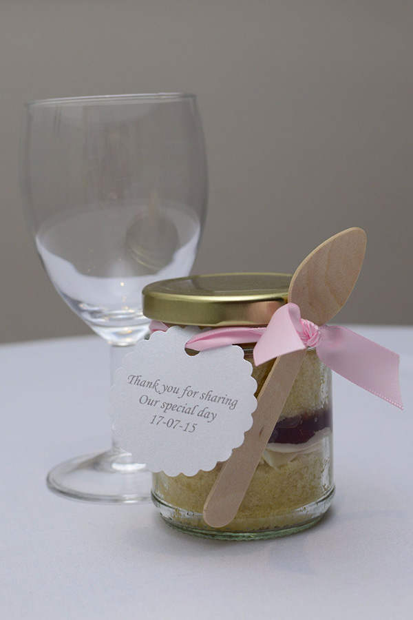 cupcake in a jar weddings Hull