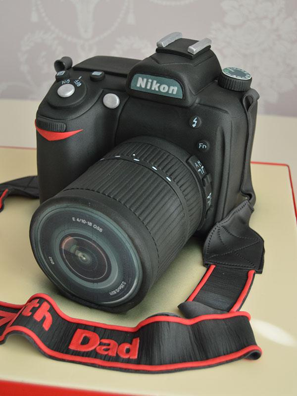 Photographers birthday cake