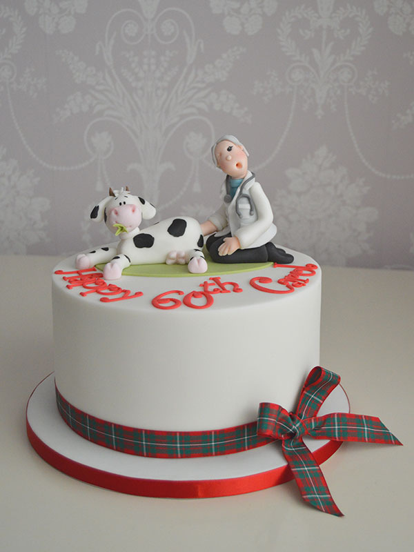 Yorkshire vet birthday cake