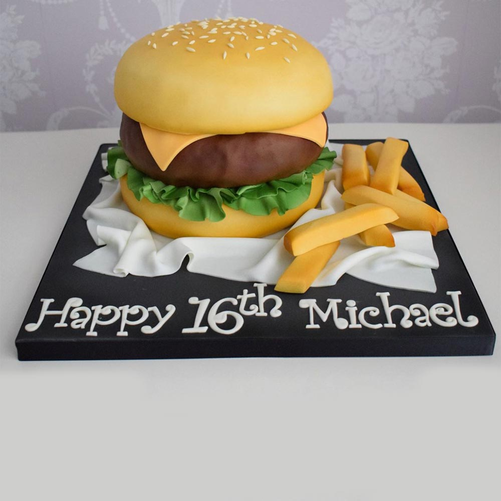 Burger cake classes in Hull and East Yorkshire